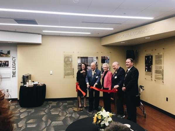 Ribbon Cutting for new Broyhill Commons Close