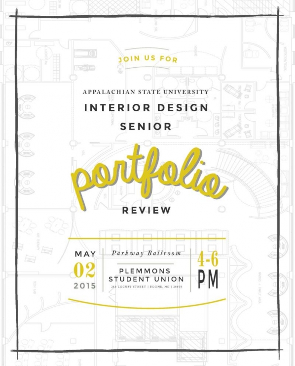 2015 senior portfolio review interior design for Interior design software review