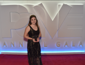 Emma Morris, a senior interior design major, took home top honors at the 2017 PAVE student design competition. Photo submitted