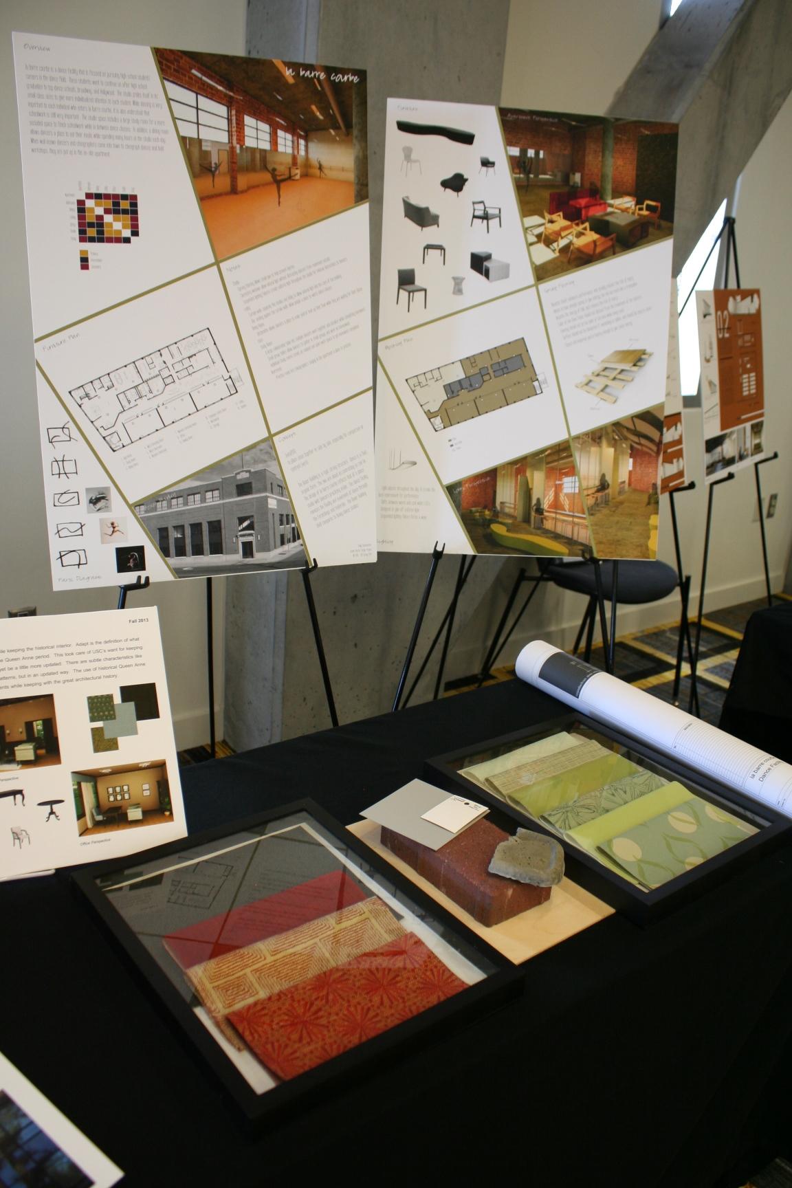 Senior portfolio review interior design for Interior design review